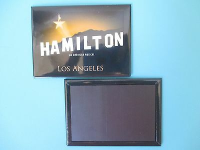 NEW Hamilton Broadway an American Musical OFFICIAL MAGNET Los Angeles Touring