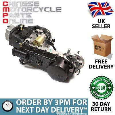 125cc Scooter Engine 152QMI-A with 450mm Case, Long Shaft (ENG047)