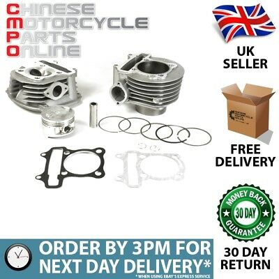180cc Lextek Top End Big Bore Cylinder Kit GY6 152QMI (TECK08H)
