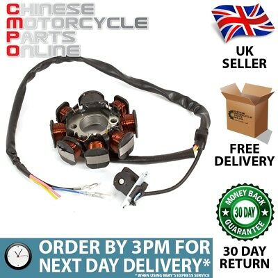 125cc Scooter Stator (4 Wire) for BT125T-12 (STTR039)