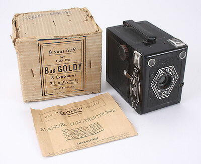 GOLDSTEIN GOLDY, BLACK, WITH ORIGINAL BOX AND WORN INSTRUCTIONS/cks/189484