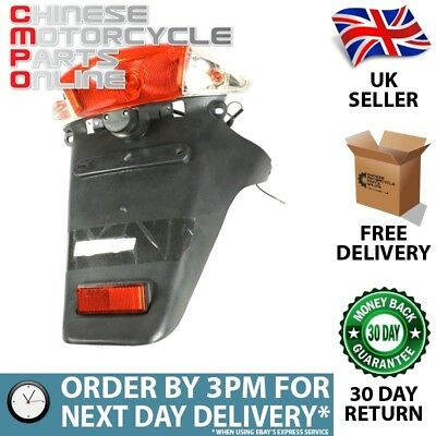 Clear Tail Light Assembly (with Rear Mudguard) Male (TLSMR005)