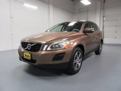 2012 Volvo XC60 T6 R-Design Sport Utility 4-Door 12 Volvo Xc60 Bronze Turbocharged 6 Cyl Leather Heated Seats Cargo Divider