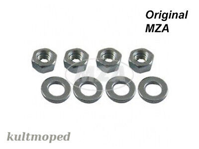 Simson Standard Parts Set S50 S51 S70 Cylinder cover/Cylinder head Nut &