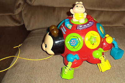 Vtech Crazy Legs Learning Bugs Educational Light-up Musical Toy-Shapes-Counting