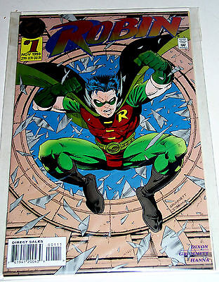 Robin #1  Dc Embossed Cover 1993 Direct Ediiton
