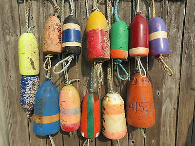 (#2563) 13 Dungeness Crab Pot Buoys Net Floats Bouys Lobster  Shrimp Crawfish