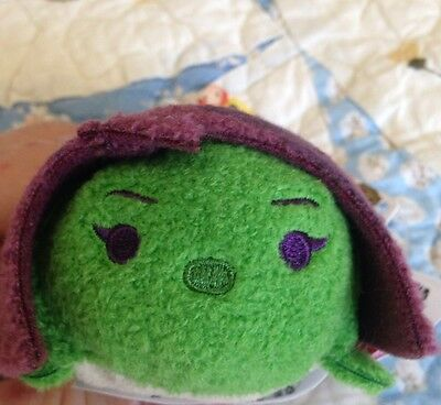 "Gamora Guardians Of The Galaxy  Disney Mini Tsum-3 1/2"" New With Tag From Target"