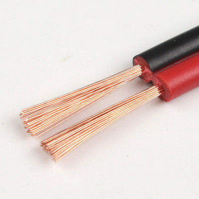 RVB Copper cable parallel LED Speaker Cable Electronic Monitor power Cord