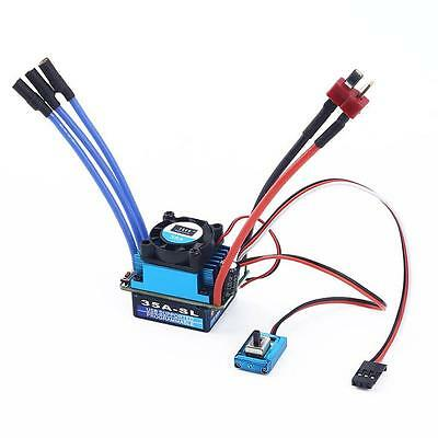 TSKY Racing 35A Brushless Electric Speed Controller ESC for 1/10 RC Car TruckWSC