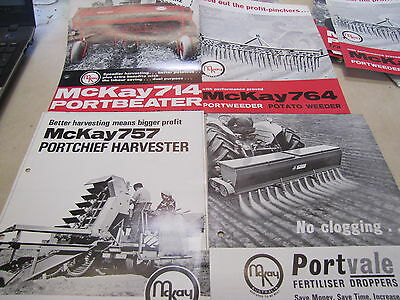 Mckay Tractor And Implements Pamphlets