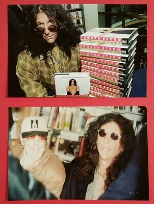 Howard Stern Signed Hardcover Book Private Parts With Photo & Flyer Proof