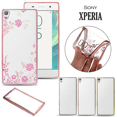 Stylish Hybrid Shockproof Plating Case Silicone Cover For Sony Xperia XA1 XA2 L1