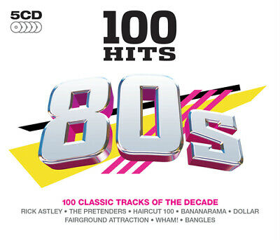 Various Artists : 100 Hits: 80s CD (2015)