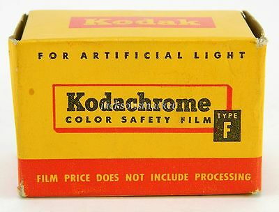 Kodak KF 135 Vintage Color Safety Film Sealed Box Exp Feb 1958 36 Exposure