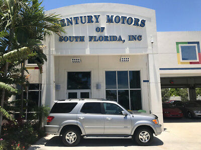 2003 Toyota Sequoia SR5 Sport Utility 4-Door Leather Sunroof 3rd Row CD 1 Owner
