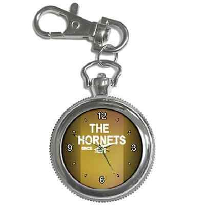 The Hornets Since 1881 Watford Round Keychain Watch **superb Item**