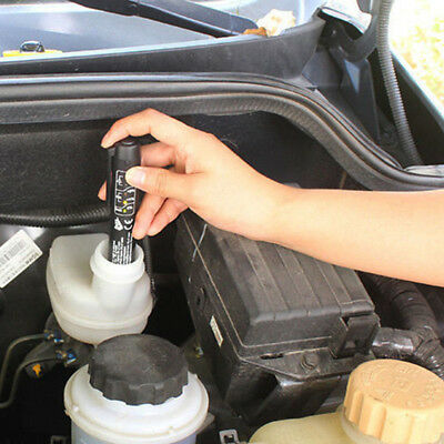 Auto Car Indicator Brake Fluid Oil Tester Detector Pen Batterty Detection Tool