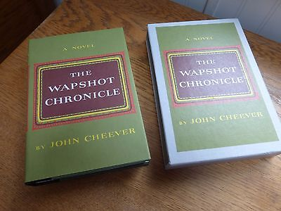 The Wapshot Chronicle by John Cheever 1985 1st edition Library boxed