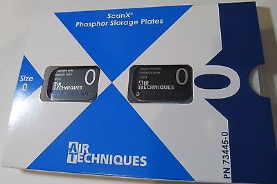 New 2-Pack Air Techniques Scan-X Scanx 73445-0 #0 Phosphor Storage Plates 2022