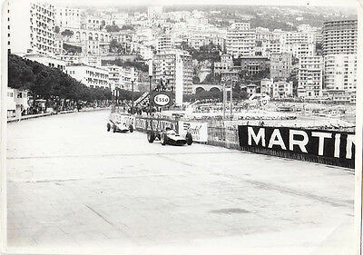 Graham Hill Leading Another Single Seater At Monaco G.p. Photograph.