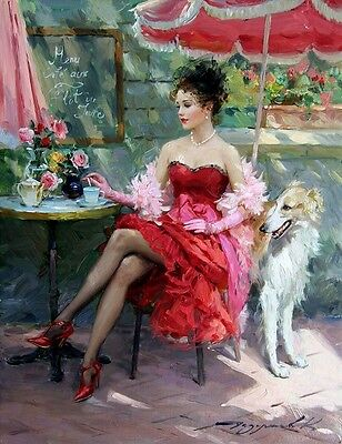 HD Print On Canvas Figure Oil Painting Picture Girl Art For Home Decor PR015