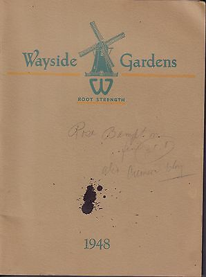 Wayside Gardens Root Strength 1948 Flower Catalog 080417nonDBE