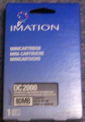3 Imation DC2000 Data Tape 40/80 MB-New,Sealed-FOR:Irwin 40,80,QIC-40,100-NIB-NR