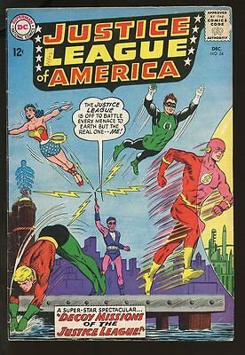 Justice League Of America #24 Very Good- 1963