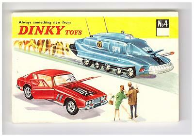 KDT KATALOG/CATALOGUE DINKY TOYS NR 4,1968, ca.Din A6, NEUWERTIG/LIKE NEW !