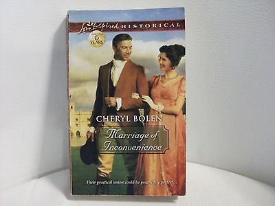 Love Inspired Historical: Marriage of Inconvenience by Cheryl Bolen (2012, PB)