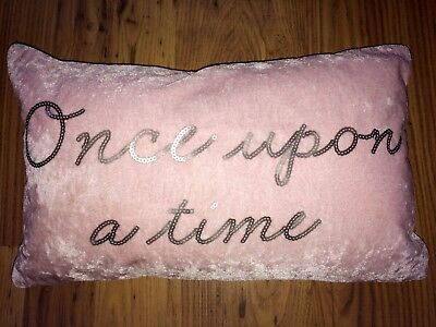 Next Home Girls Bedroom Cushion Once Upon A Time Sparkle Star
