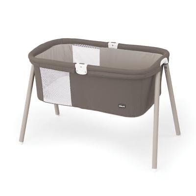 New Chicco LullaGo Portable Bassinet - Chestnut Model:B2E485DA