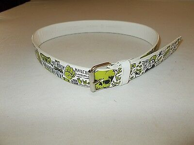 Genuine Shaun White Boy's Zombie Skateboarding pants belt size M 28 used