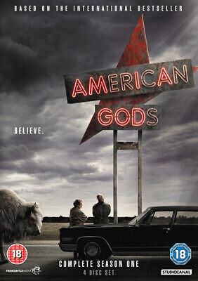 American Gods: Complete Season One DVD (2017) Ricky Whittle