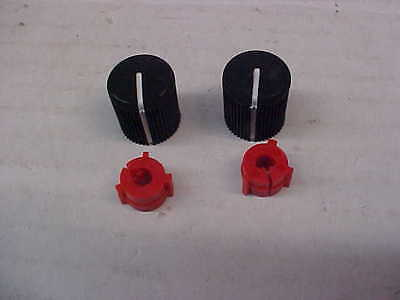 New OEM Motorola saber volume knobs 2 inserts as pictured sold lot loc#a617
