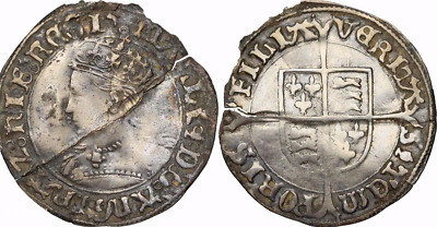 ENGLAND. Bloody Mary Silver Groat, Spink 2492