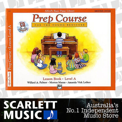 ABPL Alfreds Basic Piano Prep Course Lesson Book Level A Alfred's *WITH CD*