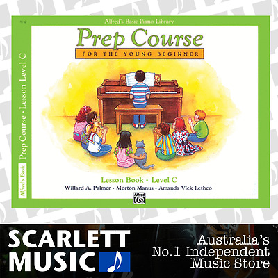 ABPL Prep Course Piano Lesson Book Level C Alfred's Alfreds *BRAND NEW*