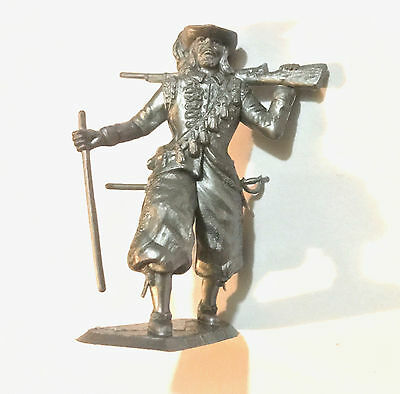 1973 Aussie Cereal Toy ~ French Musketeer ~ Silver Toy Soldiers Of The World