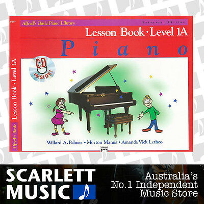 ABPL Alfred's Basic Piano Library Lesson Book Level 1A Alfreds *WITH CD*