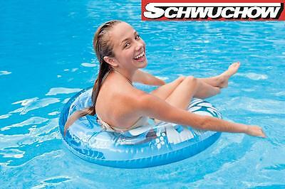 Intex Tires Swimming ring Neon Frost blue Lounge Air mattress Pool Bestway 91cm