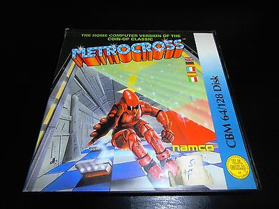 Commodore 64 C64 Disk Disc Game - Metrocross - Boxed Complete