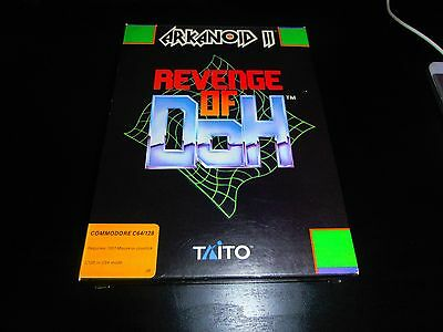 Commodore 64 C64 Disk Disc Game - Arkanoid 2 Revenge Of Doh - Boxed Complete