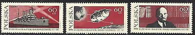 1967 Polish stamp series 50th Anniversary of the Russian Revolution   MNH