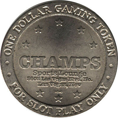 Champ's Sports Lounge Casino - $1 Casino Route Token