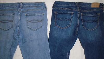 Lot of Girls Size 16 Abercrombie Jeans Lighter Wash and Medium Wash