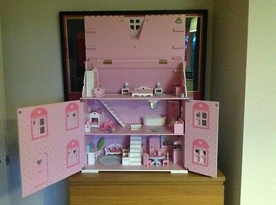 Early Learning Centre Wooden Dolls House Furniture Large Amount Elc Vgc Picclick Uk