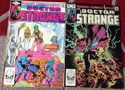 Doctor Strange 53 & 55 Vol 2 Marvel Comics Marshall Rogers Michael Golden
