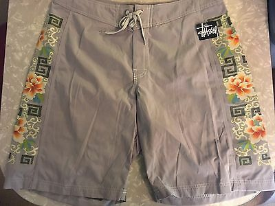 VINTAGE STUSSI SHORTS SURF NWT NOS RARE Size 36 Skate Mens 90's Board NEW SWIM